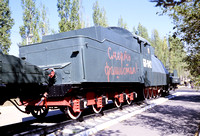 JMT32024 - Russia SZD  БИ-1942 at Saratov, Falcon Moutain Hill - 23-08-2008 - Armoured train at Aircraft Museum  - John Tolson