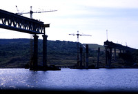 JMT32028 - Russia    at Ulyanovsk - 25-08-2008 - New high level river bridge under constructiojn  - John Tolson