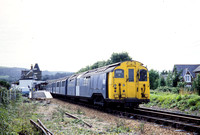 JMT32963 - UK (IOW) BR Class 452, S10 at Shanklin - 17-08-1980 - Set 043 leads departing for Ryde Pierhead  - John Tolson