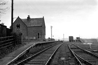 Abercairney stn (closed) lkg to Perth 2/1/60 WS4008
