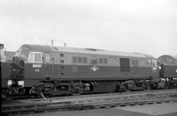 D6127 Doncaster Works (on acceptance trials) 11.10.59 ASG28-1