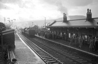 Abergavenny  Junction station (2 views available) 5.1.58 AEB2885