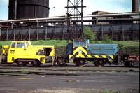 GHT5795 - UK BSC  63 at Consett - 05-06-1979 - With 36 (TH 222v-1970)  - Builder S 10066-61  - G H Taylor