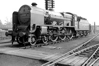 45524 at Aston Shed  in 1954 NS203599