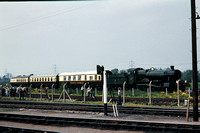 GHT7584 - UK GWR Class Manor, 7808 at Didcot - 29-05-1977 - Seen from station on main running line  - Builder Swindon 1938  - G H Taylor
