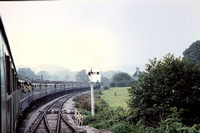 GHT8443 - UK BR Class 64xx,  at Ashburton train - 02-10-1971 - Seen from last train to Ashburton en route   - G H Taylor