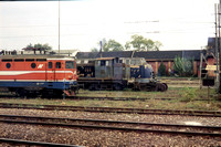 TD20011153 - Serbia JZ Class 761, 71 003 at Subotica - 26-09-2001 - Just visible at shed - Trevor Davis