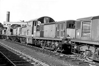 D8531 with sister locomotives ICA D1486