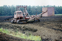 JMT23787 - Poland Industrial   at Jozefowo - 05-09-2001 - HolLas peat works Ry. Peat digger machine  - John Tolson