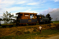 GHT12429 - Phillippines industrial Class  - 0-6-0 , 4 at Hawaiian-Philippine Sugar Co, Negros - 26-03-1986 - Builder BLW 52865-1920  - in fields  - GH Taylor