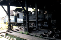 GHT12448 - Philippines industrial Class  - 2-6-0 , B-M 1 at Bacolod-Murcia Milling Corp., Negros - 29-03-1986 - Builder Alco 63140-1921  - Stored at mill  - GH Taylor