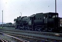 OBB Austria Railways Steam Locomotive Class 52,52 7720 at Summerau  -  in 1971 - 08-71- James Winkley - JW0111