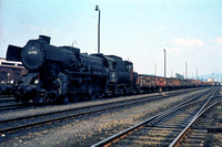 OBB Austria Railways Steam Locomotive Class 52,52 7720 at Summerau Line -  in 1971 - 08-71- James Winkley - JW0088