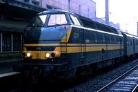 SNCB Belgium Railways Diesel Locomotive 6298 at  -  in 1977 - - James Winkley - JW0312
