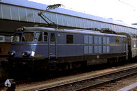 SNCB Belgium Railways Electric Locomotive 1501 at Brussels Midi -  in 1977 - - James Winkley - JW0325