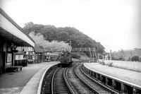 Ambergate station facing Derby with 4F 0-6-0 No.44109 in the distance. (MR) 6.8.63 PY10042A