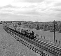 6002 Up Falmouth exp nr Hungerford 8/7/56 RCR7487