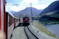 BW13 - Switzerland FO Class HGe4-4, 31 at Oberalpsee - 25-09-1971 - Builder SLM 1941  - Brian Walker