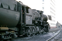 BW373 - Austria oBB Class 52, 52.3681 at Wien Ost - 01-10-1973 - At shed  - Brian Walker