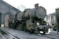 BW374 - Austria oBB Class 52, 52.7018 at Wien Ost - 01-10-1973 - At shed  - Brian Walker