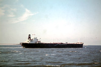 GHT626 -     at In North Sea - 21-09-1975 - From ferry hoek van Holland - Harwich, 'K.Juliana'  - G.H.Taylor