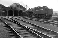 SM019 View of Ayr shed with BR 4MT 2-6-0