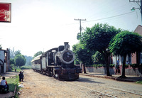JMT6725 - Paraguay FCPCAL  521 at Encarnacion - 23-11-1991 - On special, in streets  - Builder NBL 1912  - John Tolson