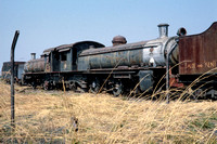 JMT8765 - Zambia ZR Class 12th, 186 at Livingstone - 05-08-1993 - Derelict at shed  - Builder NBL 23387-1926  - John Tolson