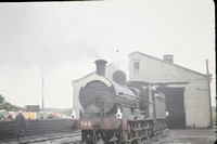 JMT9015 - Ireland CIE Class J15, 186 at Rosslare Harbour - 06-06-1964 - On shed  - Builder SS 2838-1879  - John Tolson