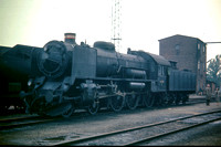 JMT1046 - Denmark DSB Class R, 4-6-0 -  963 at Fredericia - 19-09-1970 - On shed  - John Tolson