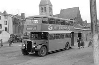 TR2156 Wilts & Dorset double-decker 382 JWV381 at Weymouth 24854 (ARG)