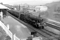 AG88-3 7819 (RF) tn 'Cambrian Coast Express' at Welshpool 1963