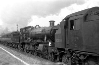 AG90-3 7819 (RF) tn up 'Cambrian Coast Express' Talleddig Summit 1963