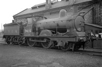 PP71     LNER 7416 E4 (RF) North Allerton shed 1936